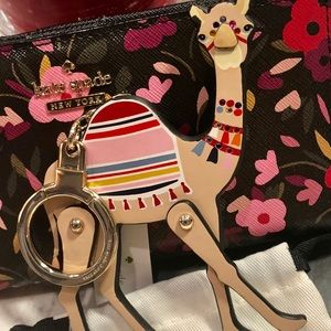 NWT Kate Spade Spice Things Up Camel Keychain